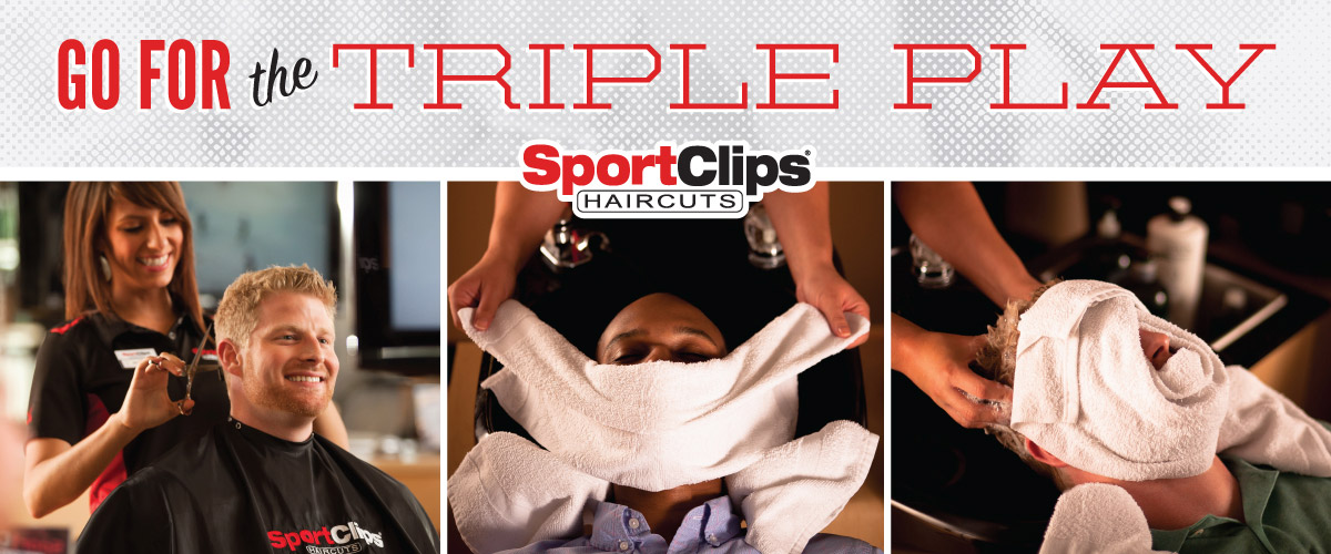 The Sport Clips Haircuts of Kingman  Triple Play